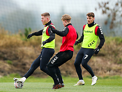 Alfie Mawson of Bristol City during a training session ahead of the FA Cup game with Portsmouth - Rogan/JMP - 07/01/2021 - Failand - Bristol, England.