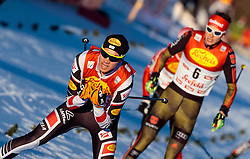 27.01.2017, Casino Arena, Seefeld, AUT, FIS Weltcup Nordische Kombination, Seefeld Triple, Langlauf, im Bild Mario Seidl (AUT) // Mario Seidl of Austria in action during Cross Country Gundersen Race of the FIS Nordic Combined World Cup Seefeld Triple at the Casino Arena in Seefeld, Austria on 2017/01/27. EXPA Pictures © 2017, PhotoCredit: EXPA/ JFK