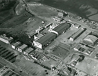 1928 Aerial photo of Fox Movietone Studios in West Los Angeles