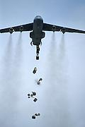 C-141 paradrop
