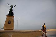Monumento A La Mujer Mazalteca, Malecon, Avenue del Mar, Mazatlan, Sinaloa, Mexico