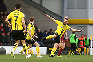 Burton Albion defender Jake Buxton (3) clears the ball during the EFL Sky Bet League 1 match between Burton Albion and Bradford City at the Pirelli Stadium, Burton upon Trent, England on 26 January 2019.