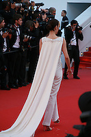 Cansu Dere at the gala screening for the film Inside Out at the 68th Cannes Film Festival, Monday May 18th 2015, Cannes, France