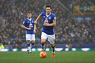 Gareth Barry of Everton in action. Barclays Premier League match, Everton v Sunderland at Goodison Park in Liverpool on Sunday 1st November 2015.<br /> pic by Chris Stading, Andrew Orchard sports photography.