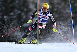 06.01.2014, Stelvio, Bormio, ITA, FIS Weltcup Ski Alpin, Bormio, Slalom, Herren, im Bild Ivica Kostelic // Ivica Kostelic  in action during mens Slalom of the Bormio FIS Ski World Cup at the Stelvio in Bormio, Italy on 2014/01/06. EXPA Pictures © 2014, PhotoCredit: EXPA/ Sammy Minkoff<br /> <br /> *****ATTENTION - OUT of GER*****