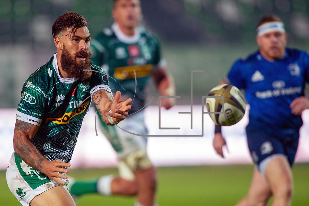 Treviso 10/10/2020 Stadio Monigo<br /> Guinness PRO14 <br /> Benetton Treviso vs Leinster <br /> Jayden Hayward