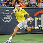 Washington DC - August 3rd, 2013 - Juan Martin Del Potro at the 2013 CitiOpen Tennis Tournament in Washington, D.C.