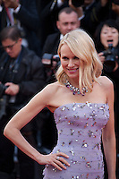 Actress Naomi Watts at the gala screening for Woody Allen's film Café Society and opening ceremony at the 69th Cannes Film Festival, Wednesday 11th May 2016, Cannes, France. Photography: Doreen Kennedy