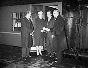 17/11/1959<br /> 11/17/1959<br /> 17 November 1959<br /> Group at Kingsbridge Station (Hueston Station), Dublin for C.I.E..