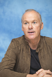 November 9, 2016 - Hollywood, California, U.S. - Michael Keaton promotes movie 'The Founder' (2016). Michael John Douglas (born September 5, 1951 Pennsylvania), known professionally as Michael Keaton, is an American actor, producer, and director. Keaton first rose to fame for his comedic film roles in Night Shift (1982), Mr. Mom (1983), Johnny Dangerously (1984) and Beetlejuice (1988), and he earned further acclaim for his dramatic portrayal of the title character in Tim Burton's Batman (1989) and Batman Returns (1992). Keaton's critically praised lead performance in Birdman (2014) earned him a Golden Globe Award for Best Actor in a Musical or Comedy, the Critics' Choice Award for Best Actor and Best Actor in a Comedy, and nominations for the Screen Actors Guild Award, British Academy Film Award, and Academy Award for Best Actor. Spouse, Caroline McWilliams (m. 1982; div. 1990) Children, Sean Maxwell Douglas. (Credit Image: © Armando Gallo/Arga Images via ZUMA Studio)