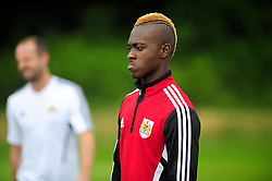 Bristol City's Toby Ajala - Photo mandatory by-line: Dougie Allward/JMP - Tel: Mobile: 07966 386802 28/06/2013 - SPORT - FOOTBALL - Bristol -  Bristol City - Pre Season Training - Npower League One