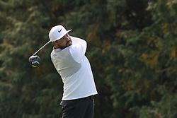 Oct 19, 2018-Jeju, South Korea-J.J. SPAUN of USA action on the 14th green during the PGA Golf CJ Cup Nine Bridges Round 2 at Nine Bridges Golf Club in Jeju, South Korea.