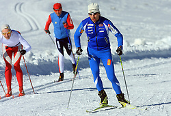 Nejc Brodar at practice of Slovenian Cross country National team before new season 2008/2009, on October 22, 2008, glacier Dachstein, Ramsau, Austria. (Photo by Vid Ponikvar / Sportida).
