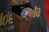 Tatuaggi Diamond League 2016, Tatoos  <br /> Roma 02-06-2016 Stadio Olimpico.<br /> IAAF Diamond League 2016<br /> Atletica Legera <br /> Golden Gala Meeting - Track and Field Athletics Meeting<br /> Foto Cesare Purini / Insidefoto