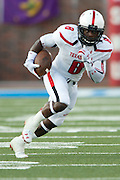 DALLAS, TX - AUGUST 30: Sadale Foster #8 of the Texas Tech Red Raiders breaks free against the SMU Mustangs on August 30, 2013 at Gerald J. Ford Stadium in Dallas, Texas.  (Photo by Cooper Neill/Getty Images) *** Local Caption *** Sadale Foster