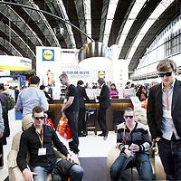 Nederland, Amsterdam , 11 maart 2011..Bezoekers van de Carriere beurs in de RAI..Foto:Jean-Pierre Jans