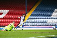 Goal 2-1 Blackburn Rovers forward Ben Brereton (20) scores a goal 2-1 during the EFL Sky Bet Championship match between Blackburn Rovers and Birmingham City at Ewood Park, Blackburn, England on 8 May 2021.