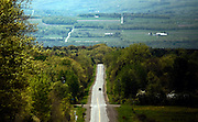 Looking West towards Seneca Lake along Searsburg Road near The Finger Lakes National Forest in Burdett, NY, Thursday, May 14, 2015.<br /> (Heather Ainsworth for The Syracuse Post-Standard)