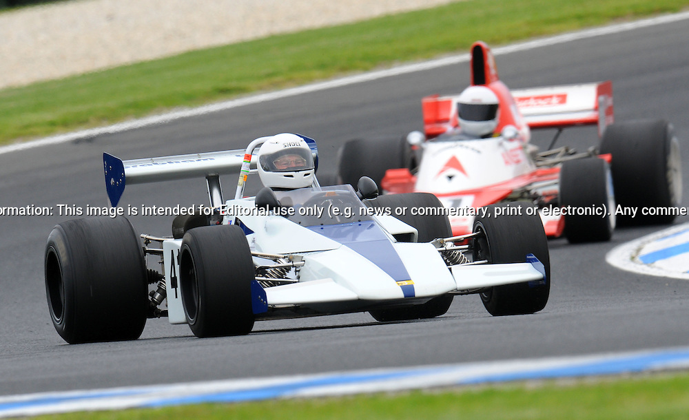 Tim Kuchel - Brabham BT 40 - Formula 2.Historic Motorsport Racing - Phillip Island Classic.18th March 2011.Phillip Island Racetrack, Phillip Island, Victoria.(C) Joel Strickland Photographics.Use information: This image is intended for Editorial use only (e.g. news or commentary, print or electronic). Any commercial or promotional use requires additional clearance.