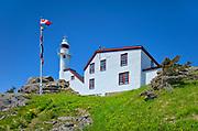 Lobster Cove Head Lighthouse at Lobster Cove Head.<br />Gros Morne National Park<br />Newfoundland & Labrador<br />Canada
