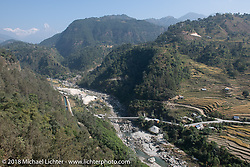 Beautiful landscape on day-4 of our Himalayan Heroes adventure riding from Pokhara to Kalopani, Nepal. Friday, November 9, 2018. Photography ©2018 Michael Lichter.