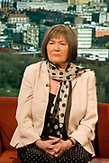 Clare Short, former International Development Secretary appearing on the BBCs Andrew Marr show on 31 January 2010 in London, United Kingdom.