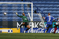 Photo: Pete Lorence.<br />Leicester City v Portsmouth. Pre Season Friendly. 04/08/2007.<br />Iain Hume scores the first goal of the match.