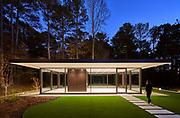 Glass Pavilion | Price Harrison Architect | Charlotte, NC