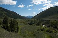 Views from Trail Creek road near Sun Valley, Idaho
