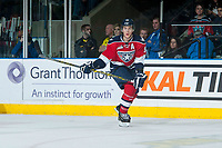 KELOWNA, CANADA - MARCH 28: Brandon Carlo #36 of Tri-City Americans skates against the Kelowna Rockets on March 28, 2015 at Prospera Place in Kelowna, British Columbia, Canada.  (Photo by Marissa Baecker/Getty Images)  *** Local Caption *** Brandon Carlo;