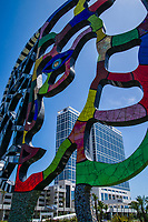 """Coming Together"" Sculpture & Hilton Bayfront Hotel"
