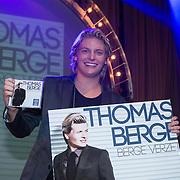 NLD/Amsterdam/201400224 - CD Presentatie Thomas Berge - Bergeverzet, Thomas berge met zijn nieuwe cd