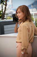 Actress  Isabelle Huppert at the Elle film photo call at the 69th Cannes Film Festival Saturday 21st May 2016, Cannes, France. Photography: Doreen Kennedy