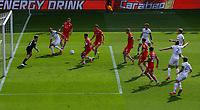 Leeds United's Helder Costa gets behind the Barnsley defence <br /> <br /> Photographer Alex Dodd/CameraSport<br /> <br /> The EFL Sky Bet Championship - Leeds United v Barnsley - Thursday 16th July 2020 - Elland Road - Leeds<br /> <br /> World Copyright © 2020 CameraSport. All rights reserved. 43 Linden Ave. Countesthorpe. Leicester. England. LE8 5PG - Tel: +44 (0) 116 277 4147 - admin@camerasport.com - www.camerasport.com