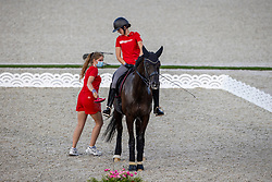 Kassoe Krüth Carina, DEN, Heiline's Danciera<br /> Olympic Games Tokyo 2021<br /> © Hippo Foto - Dirk Caremans<br /> 21/07/2021
