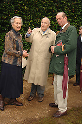 Left to right, The DUKE & DUCHESS OF RICHMOND & GORDON and HRH THE DUKE OF KENT at the Cartier Style Et Luxe at the Goodwood Festival of Speed, Goodwood House, West Sussex on 24th June 2007.<br />
