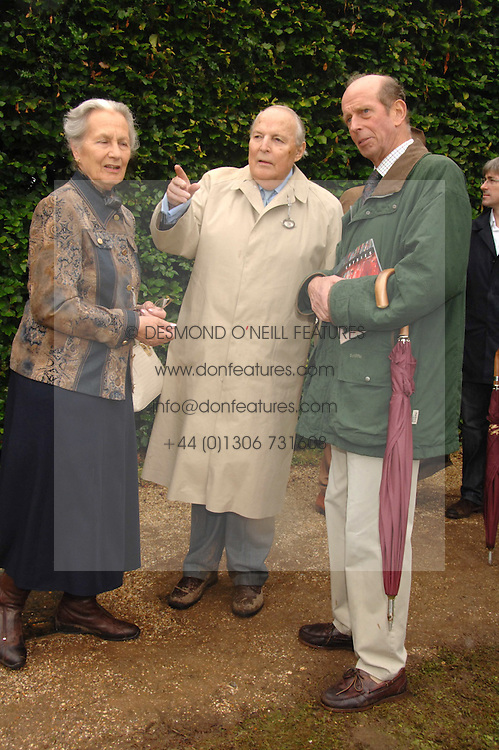 Left to right, The DUKE & DUCHESS OF RICHMOND & GORDON and HRH THE DUKE OF KENT at the Cartier Style Et Luxe at the Goodwood Festival of Speed, Goodwood House, West Sussex on 24th June 2007.<br /><br />NON EXCLUSIVE - WORLD RIGHTS