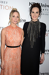Joanne Froggatt and Michelle Dockery attending 'Downton Abbey: The Exhibition' Gala Reception on November 17, 2017 in New York City, NY, USA. Photo by Dennis Van Tine/ABACAPRESS.COM