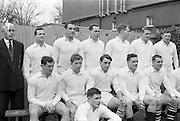 31/1/1962<br /> 1/31/1962<br /> 31 January 1962<br /> International Rugby Trials Blues v Whites. Back Row: D.Hewitt, (Instonians); M.g.Culliton, (Wanderers); L.P.F. L'Estrange, (TCD); Seated: R.J. McLoughlin, (UCD); M.K. Flynn, (Wanderers); N.H. Brophy, (Blackrock); W.A. Mulcahy, (Bohemians); A.R. Dawson, (Wanderers); T.J. Kiernan, (UCC); Front: W.G. Tormey, (UCD);