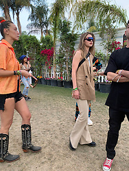 Gigi Hadid hangs out with friends backstage at Coachella . 14 Apr 2019 Pictured: Gigi Hadid. Photo credit: Marksman / MEGA TheMegaAgency.com +1 888 505 6342