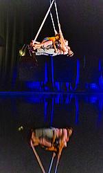 Theatre Company Ockham's Razor perform This Time at St Stephen's Church in Edinburgh as part of the Edinburgh Fringe Festival