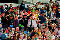 Cricket - 2021 Season - The Hundred: Men - Northern Superchargers vs Manchester Originals - Emerald Headingley, Leeds - Thursday 12th August 2021<br /> <br /> A party atmosphere at the Emerald Headingley as a sell out crowd saw the Northern Superchargers win by 69 runs.<br /> <br /> COLORSPORT/ALAN MARTIN