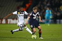 Elhadji Diallo / Clement Chantome - 01.02.2015 - Bordeaux / Guingamp - 23eme journee de Ligue 1 -<br />Photo : Manuel Blondeau / Icon Sport