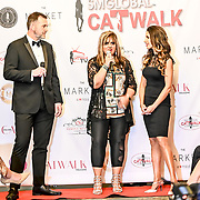 Ellie Torrez and Joe Riley host at the SMGlobal Catwalk showcase her latest collection at London Fashion GALA S/S 22  at The Royal Horseguards Hotel and One Whitehall Place on 2019-09-17, Lonfon, UK.