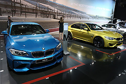 05.04.2016, Zagreb, CRO, Zagreb Auto Show, im Bild BMW M2 // Press day at Zagreb fair before official opening of Zagreb Auto Show at Zagreb, Croatia on 2016/04/05. EXPA Pictures © 2016, PhotoCredit: EXPA/ Pixsell/ Dalibor Urukalovic<br /> <br /> *****ATTENTION - for AUT, SLO, SUI, SWE, ITA, FRA only*****