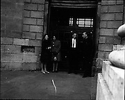 22/9/1970<br /> 9/22/1970<br /> 22 September 1970<br /> <br /> Group of people standing outside for the Arms Trial at the Four Courts