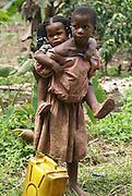 African children Photographed in Uganda, Kibale National Park