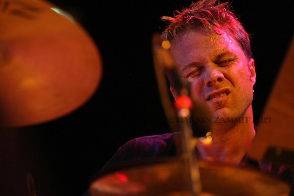 Cliff Almond (Michel Camilo Trio), 2002<br /> Photo by Darrin Zammit Lupi