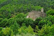 France, Languedoc Roussillon, Lozère (48), Cevennes, Sainte-Croix-Vallée-Française, église