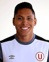 Football - Peruvian League Descentralizado - <br /> Movistar Trophy 2016 - Abertura Tournament / <br /> Club Universitario De Deportes Lima - <br /> Raul Ruidiaz